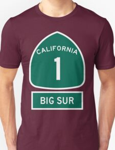 PCH - CA Highway 1 - Big Sur T-Shirt