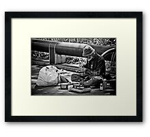 Another Gourmet Meal Framed Print