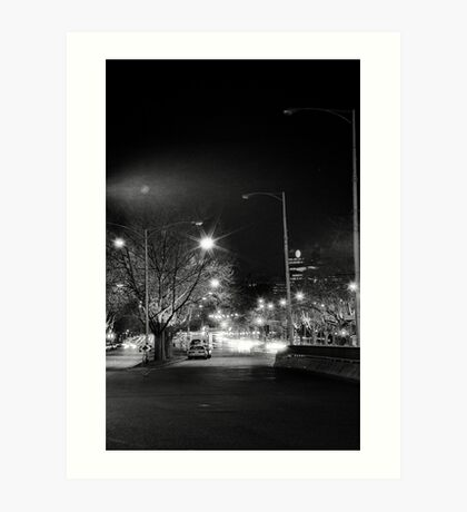 "melbourne - ""Streetscape"" #1 Art Print"