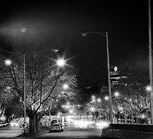 "melbourne - ""Streetscape"" #1 by Belinda J Bennett"