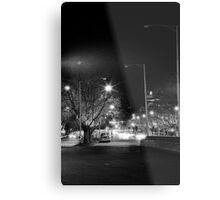 "melbourne - ""Streetscape"" #1 Metal Print"
