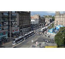 Edinburgh City Tilt-Shift Photographic Print