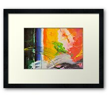 Abstraktes Bild 30 Framed Print