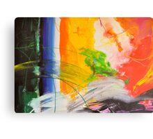 Abstraktes Bild 30 Canvas Print