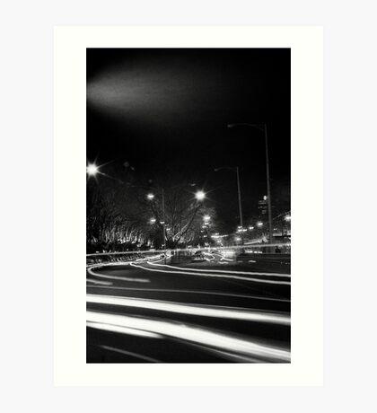 "Melbourne - ""Streetscape"" #3 Art Print"