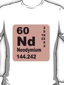 Neodymium Periodic Table of Elements T-Shirt