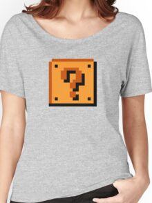 Mario Question Mark Women's Relaxed Fit T-Shirt