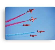 RAF The Red Arrows Canvas Print