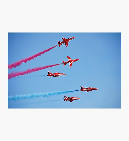 RAF The Red Arrows Photographic Print