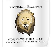 Cecil - Animal Rights Poster