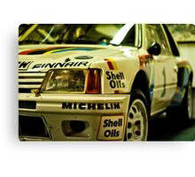 Peugeot 205 Rally Car Canvas Print