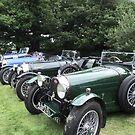 A Row of Bugattis by Dawnsuzanne