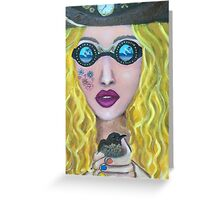 Steam Hippie Greeting Card