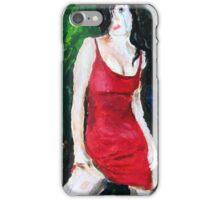 Red Macabre iPhone Case/Skin