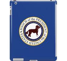 Pooch of the presidential seal geek funny nerd iPad Case/Skin