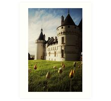 Chaumont Sunset Art Print