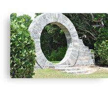 Bermuda Moon Gate Canvas Print