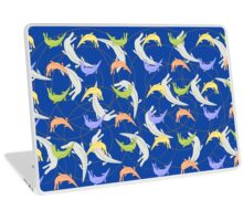 Pattern with crocodiles Laptop Skin