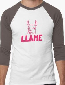 Llame Men's Baseball ¾ T-Shirt
