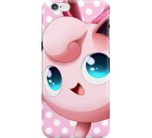 Bow Jigglypuff  iPhone Case/Skin