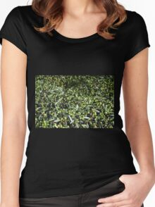 Olives Women's Fitted Scoop T-Shirt