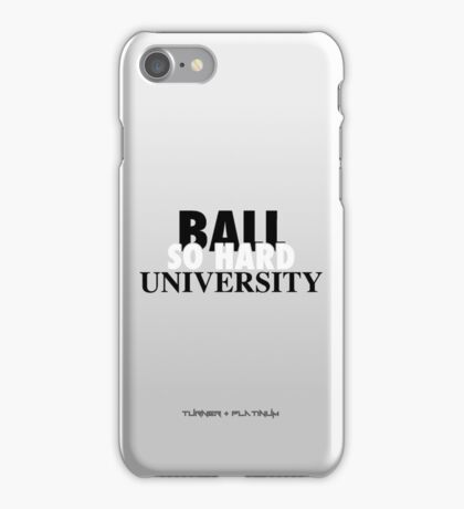 Ball So Hard University Platinum iPhone Case/Skin