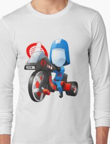 Cobra Commander on 80's big wheel Long Sleeve T-Shirt