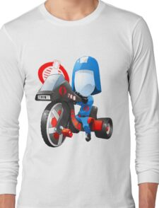 Cobra Commander on 80's big wheel Long Sleeve T-Shirt