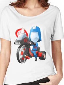 Cobra Commander on 80's big wheel Women's Relaxed Fit T-Shirt