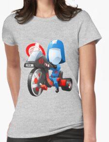 Cobra Commander on 80's big wheel Womens Fitted T-Shirt