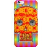 Colorful Robot Skull iPhone Case/Skin
