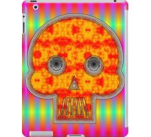 Colorful Robot Skull iPad Case/Skin
