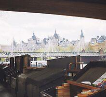 London Whitehall  by telenna
