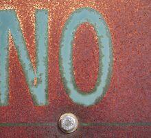 NO by Tama Blough
