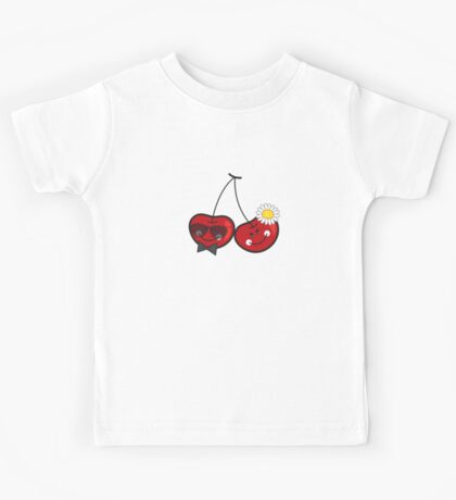 Mr. & Mrs. Cute Cheeky Cherries Kids Tee