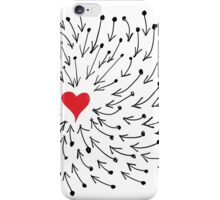 One Heart One Love One Direction iPhone Case/Skin