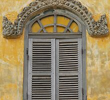 Window to Cambodia by Louise Mackley