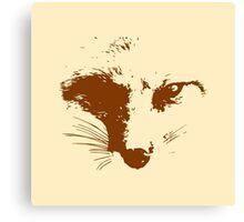 Vector Fox Canvas Print