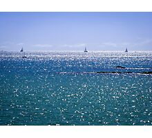 I Saw Three Ships Photographic Print