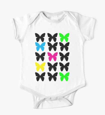 Colorful Butterflies Kids Clothes