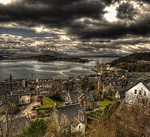 Oban, West Scotland by David Blades