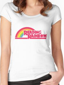 Reading Rainbow shirt – Netflix, LeVar Burton Women's Fitted Scoop T-Shirt