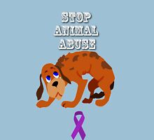 Stop Animal Abuse Awareness Unisex T-Shirt