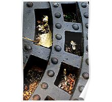 Bold Grate City Poster