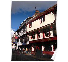 The Snickleway Inn, York Poster