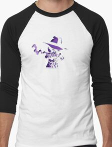 Purple Tracer Bullet Men's Baseball ¾ T-Shirt