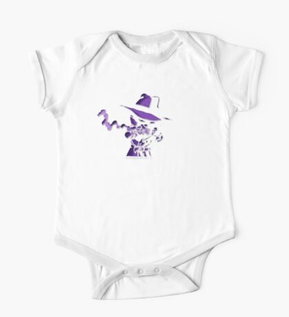 Purple Tracer Bullet One Piece - Short Sleeve