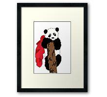 Super Panda Framed Print