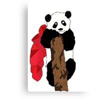 Super Panda Canvas Print