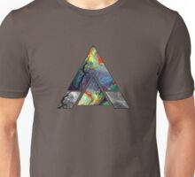 Abstract Geometry: Colorful Psychedelic Oils (Dark Grey) Unisex T-Shirt